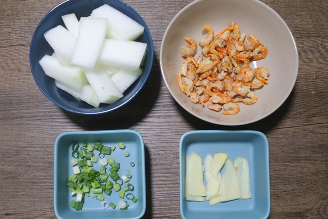 清火祛湿又消肿减脂的冬瓜金钩虾米汤的做法图解