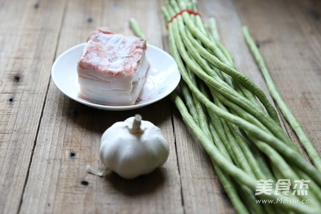 10分钟家常快手菜-五花肉煸豇豆的做法大全