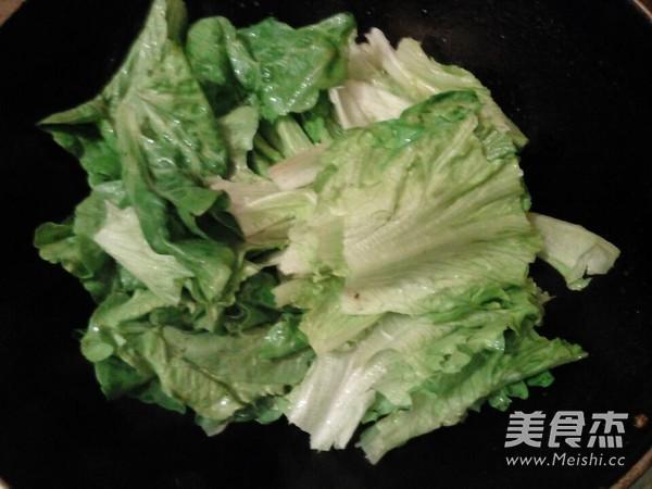 清炒生菜的简单做法