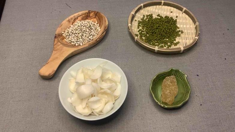 绿豆薏米百合糖水的做法大全
