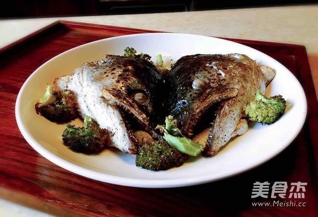 盐烤三文鱼头怎么炒
