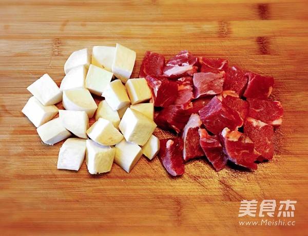 杏鲍菇黑椒牛肉粒的做法图解
