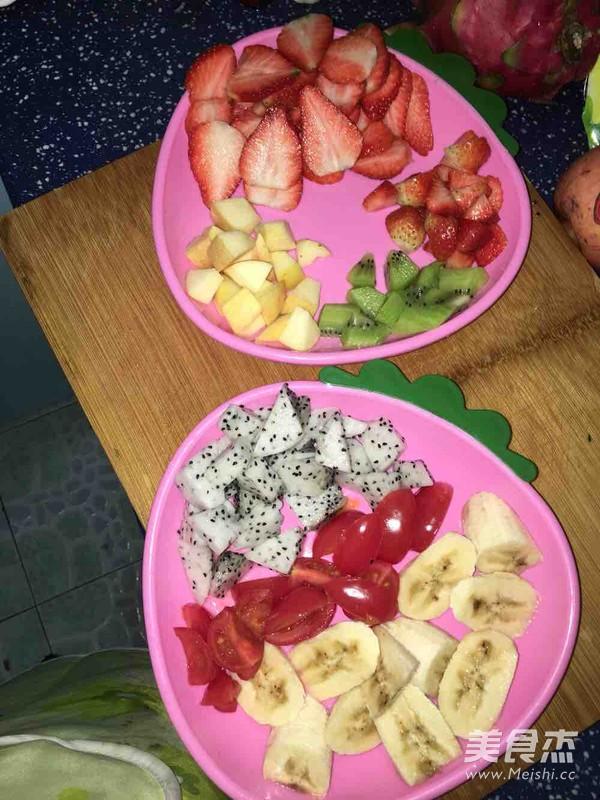 酸奶水果沙拉的做法图解