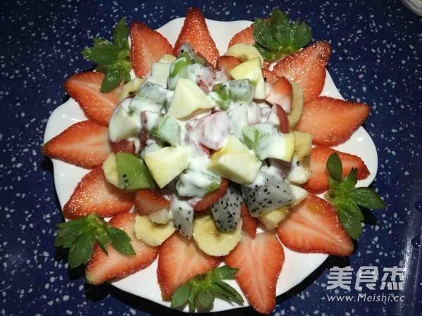 酸奶水果沙拉的简单做法