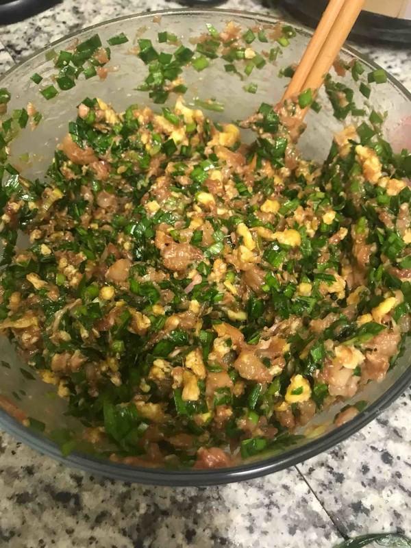 最缠绵的味道,是韭菜鸡蛋与猪肉的碰撞。怎么吃