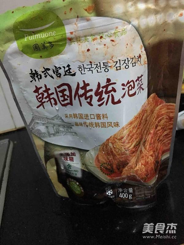 泡菜炒饭的做法图解