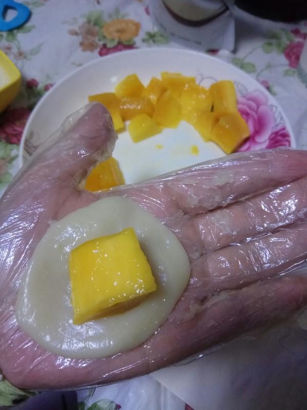 芒果糯米糍怎么炒