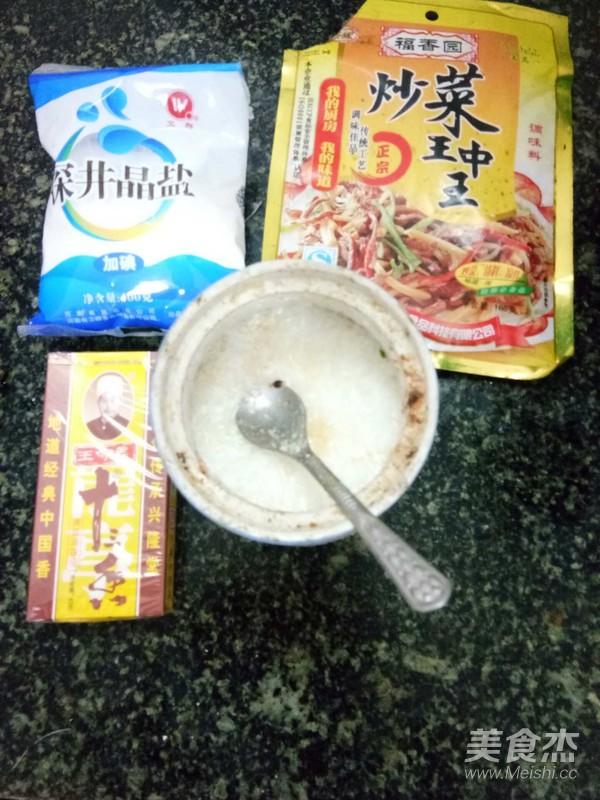 海带豆腐皮的步骤