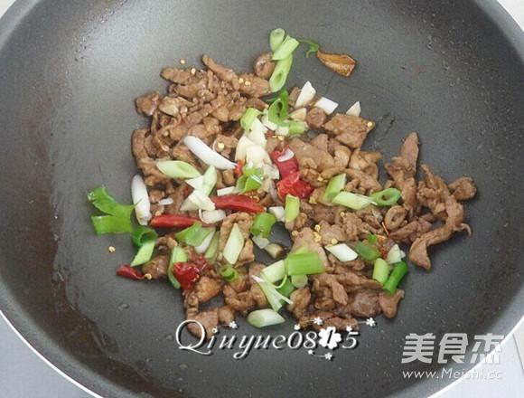 肉炒海鲜菇的简单做法