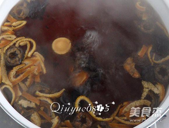 鲜煮酸梅汤的家常做法