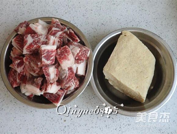 牛肉炖冻豆腐的做法图解
