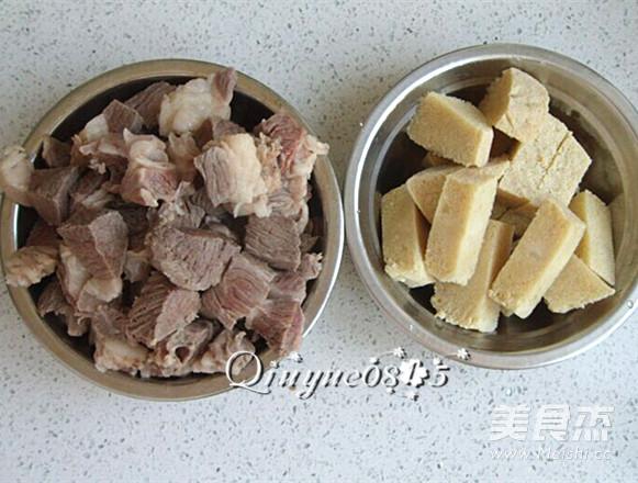 牛肉炖冻豆腐的简单做法