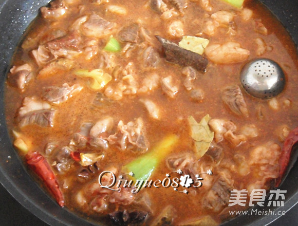 牛肉炖冻豆腐怎么煮