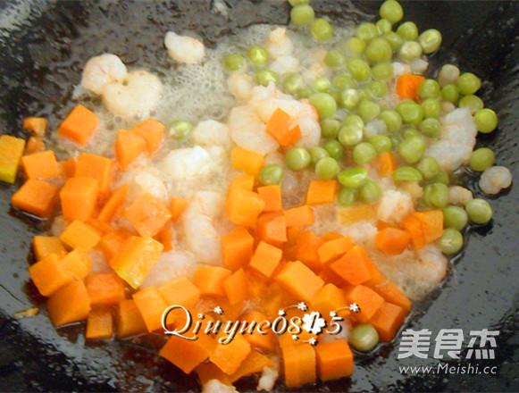 虾味蛋液炒蔬菜怎么吃