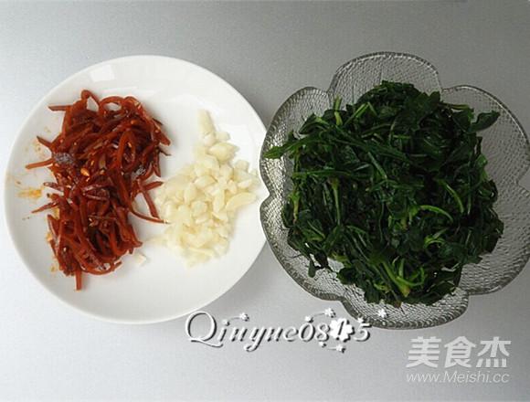 小咸菜拌苦菜怎么吃