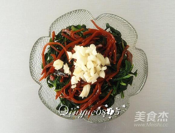 小咸菜拌苦菜怎么做