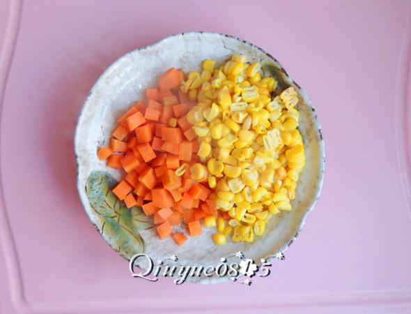 彩色沙拉的步骤