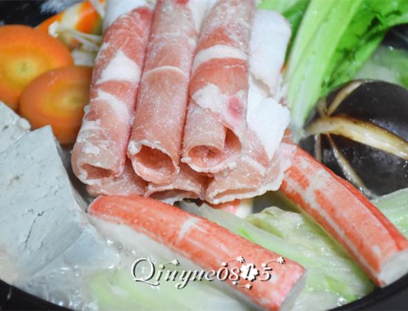 柚香白菜火锅怎么煸