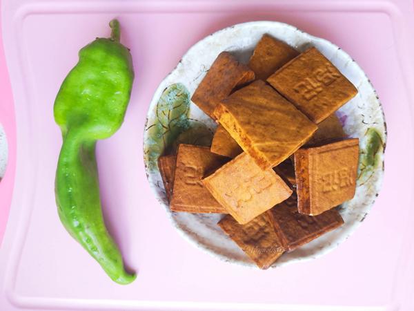 尖椒炒五香豆腐干的做法大全