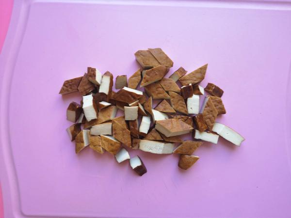 尖椒炒五香豆腐干的做法图解
