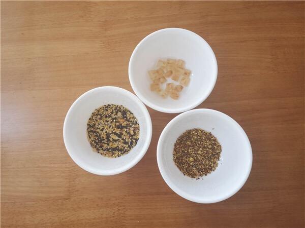 桂花杂粮熟谷米冰粥的做法大全