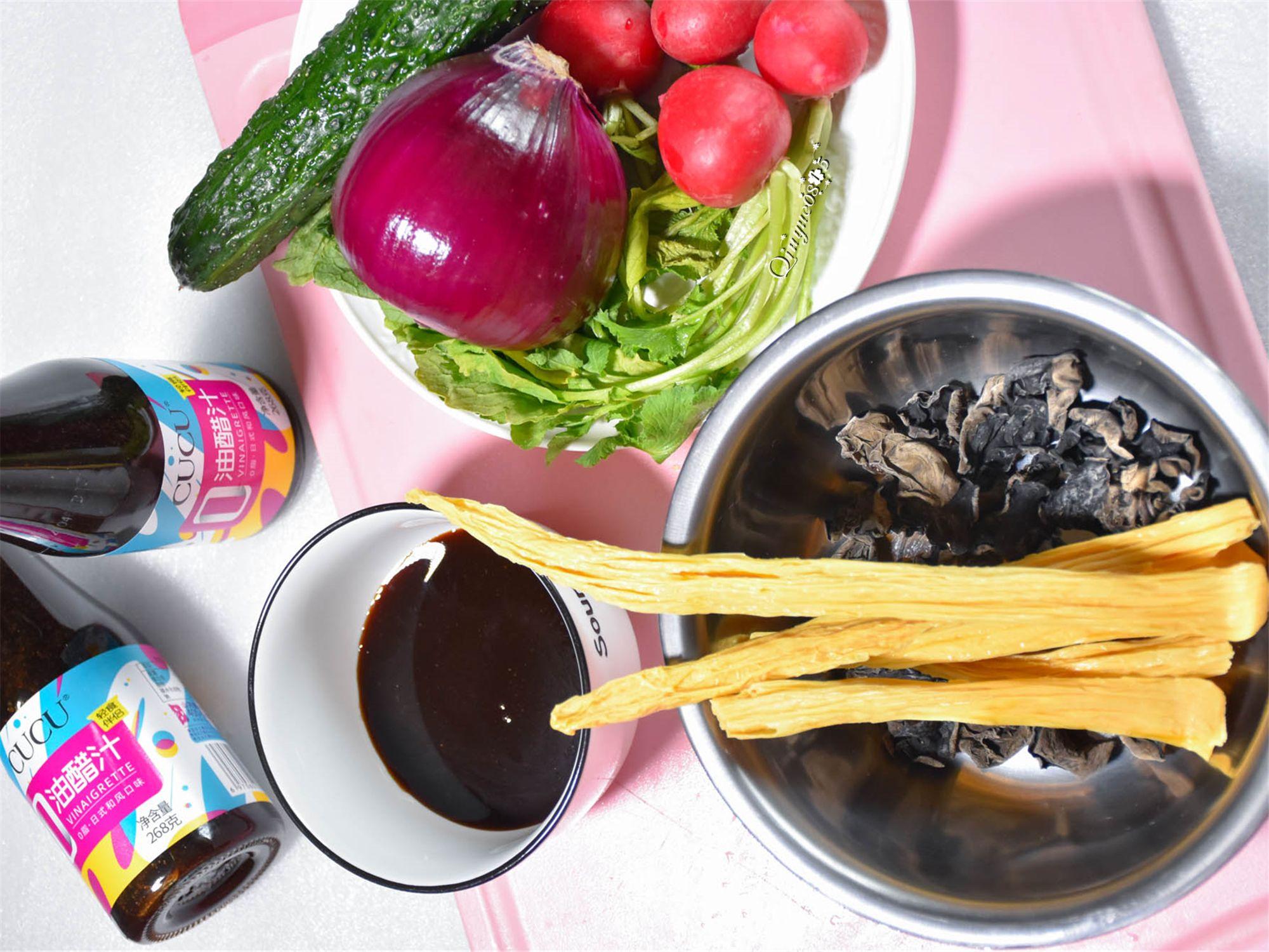 多彩凉拌菜的步骤