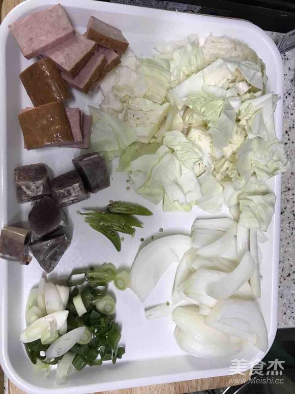 韩式鱿鱼炒米肠的做法图解