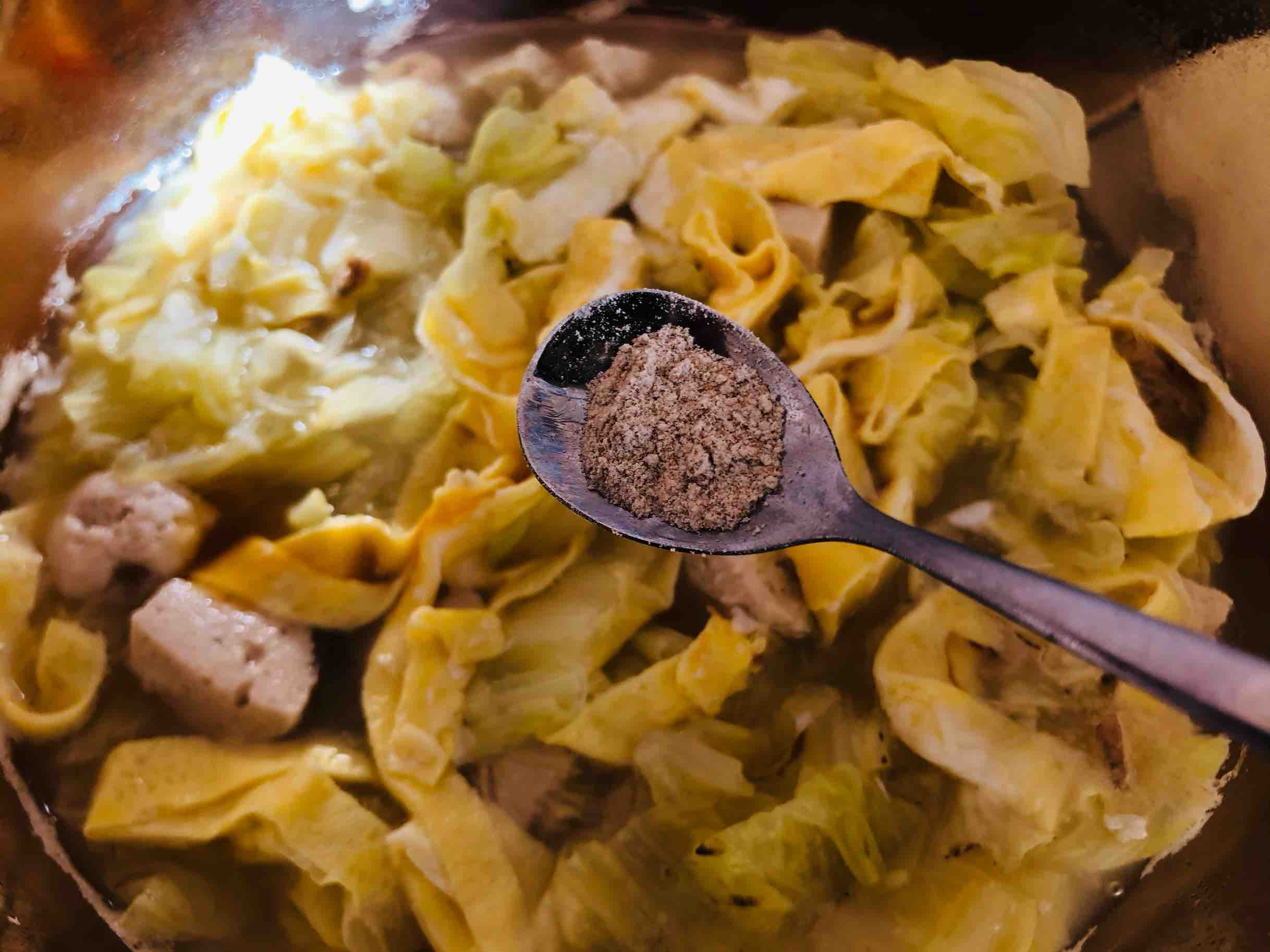 白菜粉丝汤怎样做