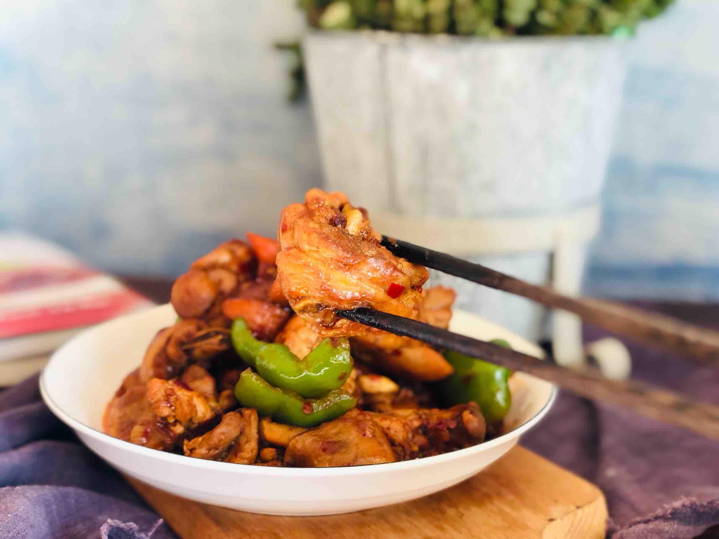 火锅鸡的家常做法,香辣过瘾简单易做,配米饭太下饭啦怎样煮