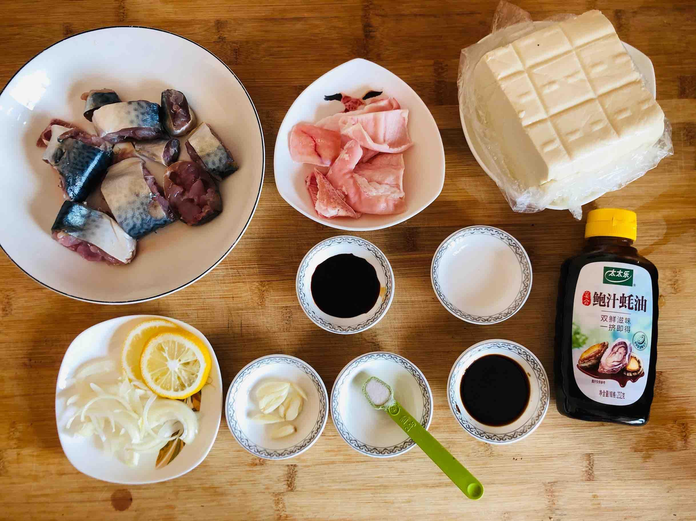 鲅鱼炖豆腐的做法大全