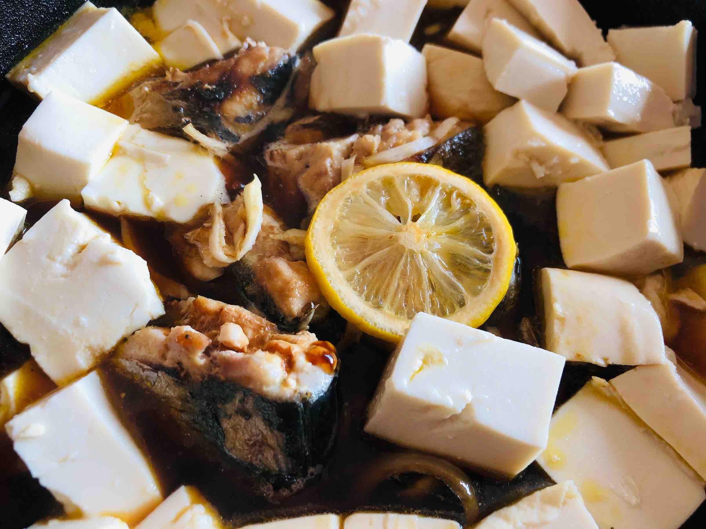 鲅鱼炖豆腐怎样做