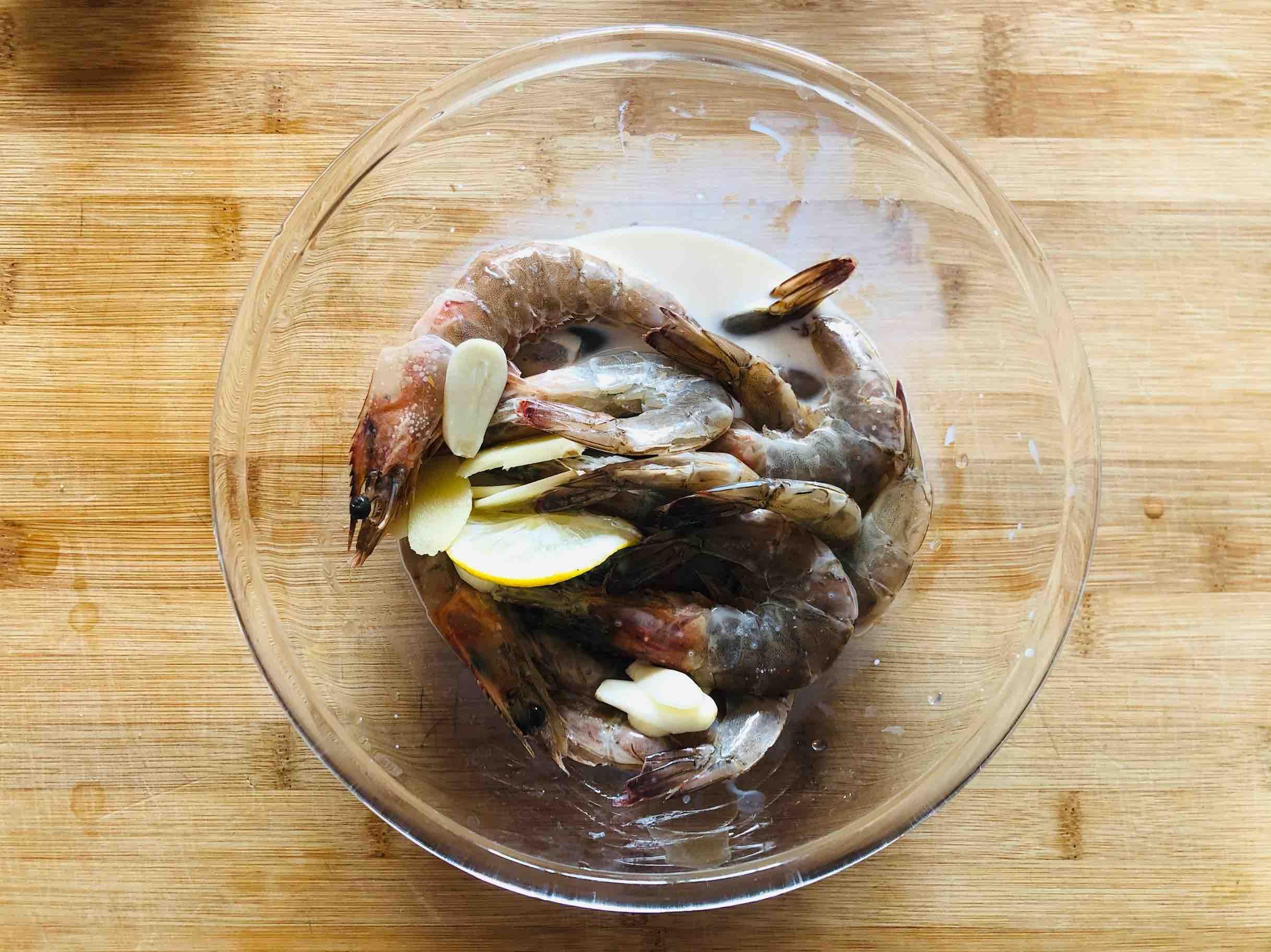 新年开运菜|干㸆大虾的步骤