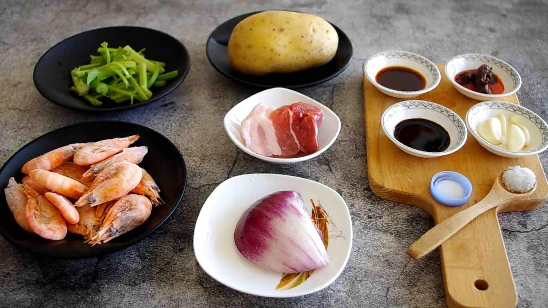 干锅土豆香辣虾的做法大全