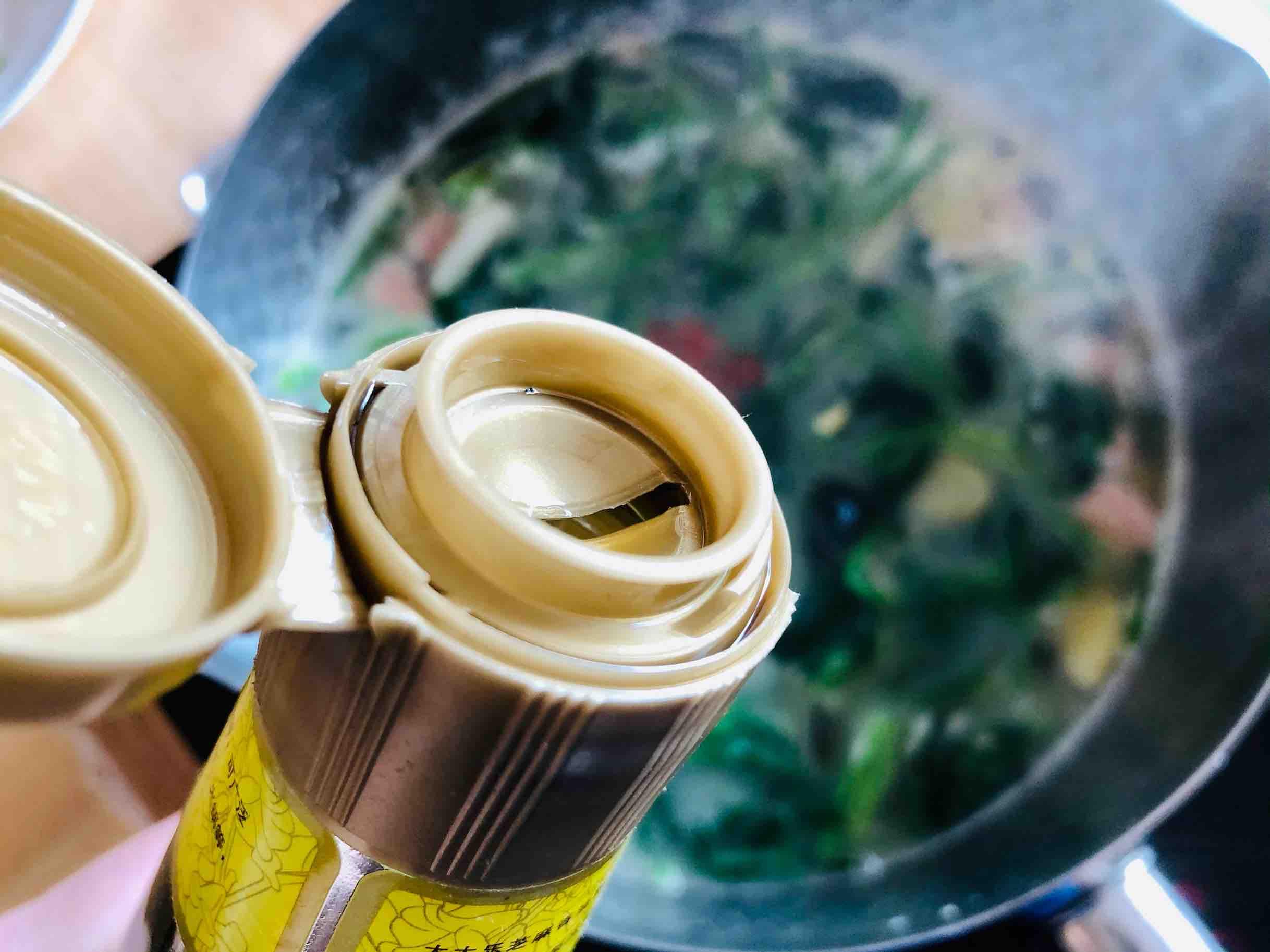 上汤菠菜的步骤