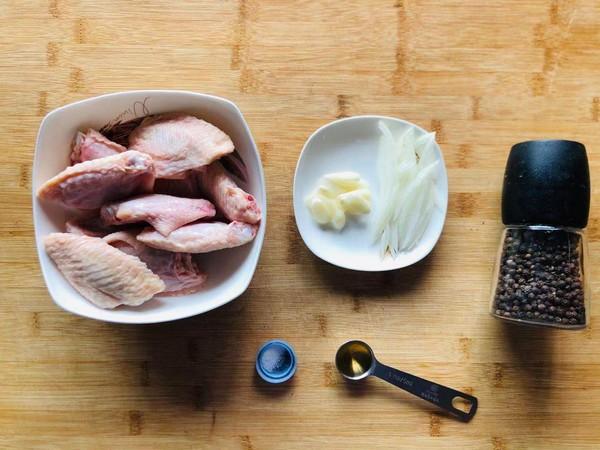 黑胡椒煎鸡翅 │软嫩多汁 超级下饭哦的步骤