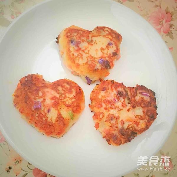 土豆什锦饼怎么炒