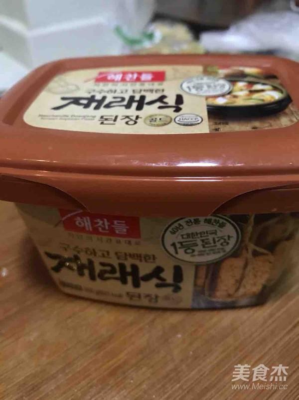 韩式大酱汤怎样做