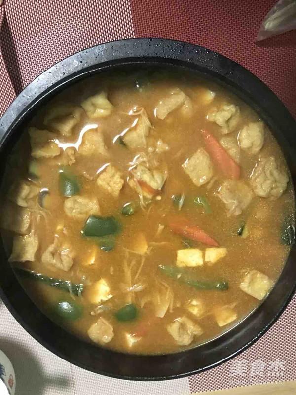 韩式大酱汤的制作