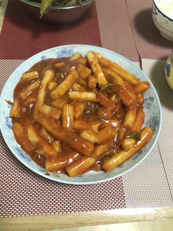 韩式辣炒年糕怎样做