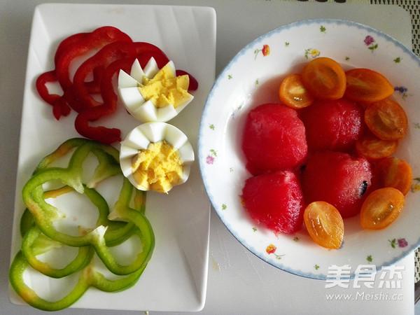 果蔬冷面怎么吃