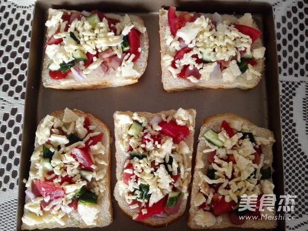 快手早餐——面包披萨的简单做法