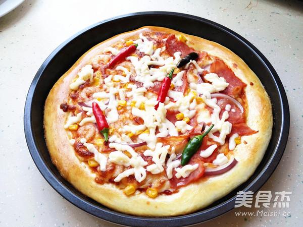 海陆至尊披萨怎样炖