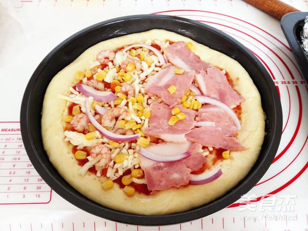 海陆至尊披萨怎样炒