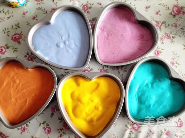 彩虹蛋糕怎样做