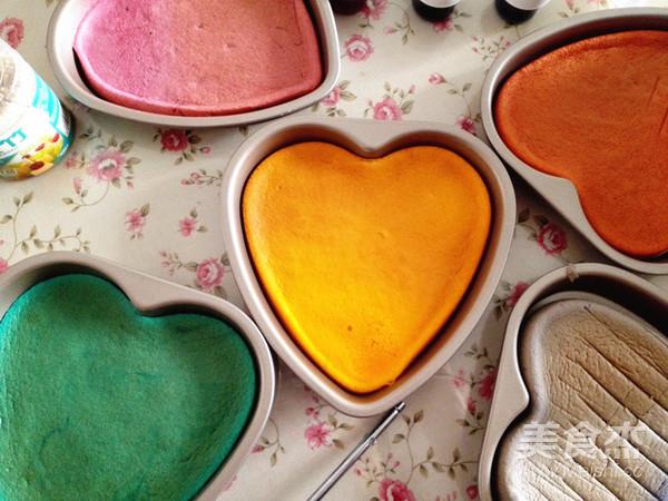 彩虹蛋糕怎样煮