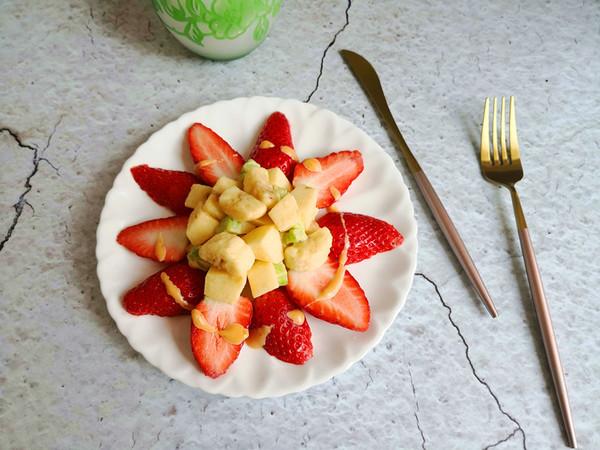 水果沙拉怎么做好吃图片