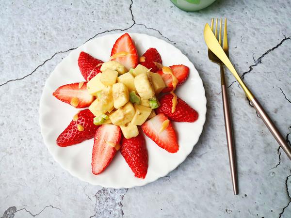 蔬菜水果沙拉图片