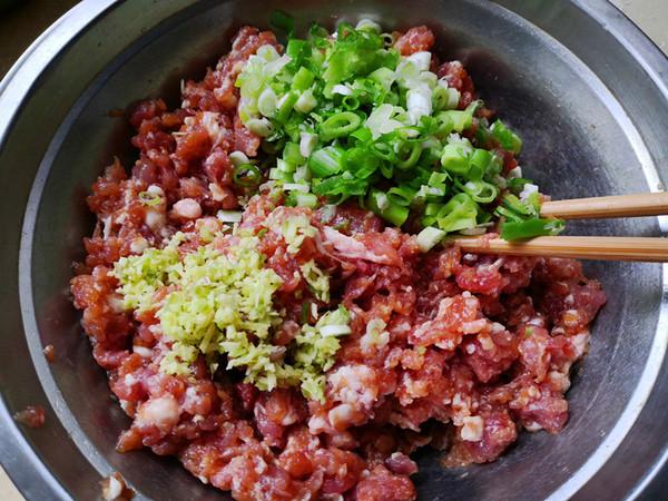 豆角猪肉蒸包的家常做法