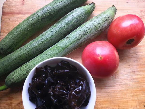 西红柿炒丝瓜的做法大全