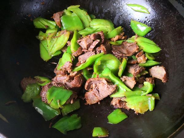 辣椒炒牛肉怎么做